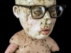 Figure in Diaper and Glasses, detail